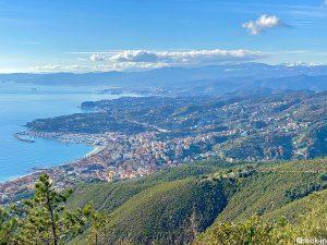 Migliori punti panoramici della Liguria: monte Grosso di Varazze (406 m di quota)