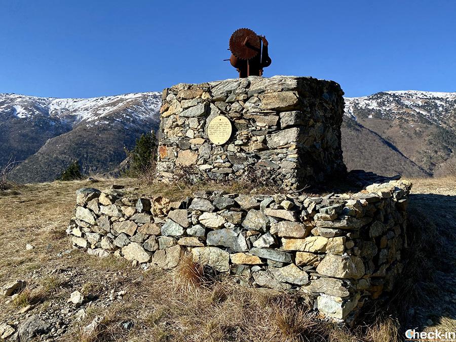 Mulinello e Rifugio Bepillu verso il Passo della Gava - Arenzano, Parco del Beigua