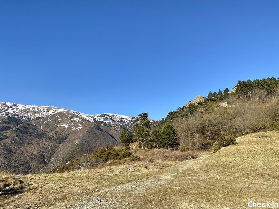 Pràu Lisëu, bivio per i passi Gavetta e Gava - Arenzano, Liguria