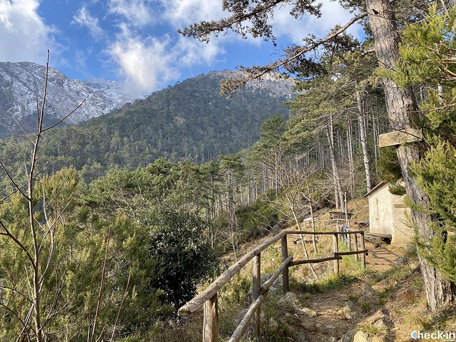 Bivacchi attrezzati nel Parco del Beigua: Rifugio Sambügu (Arenzano)