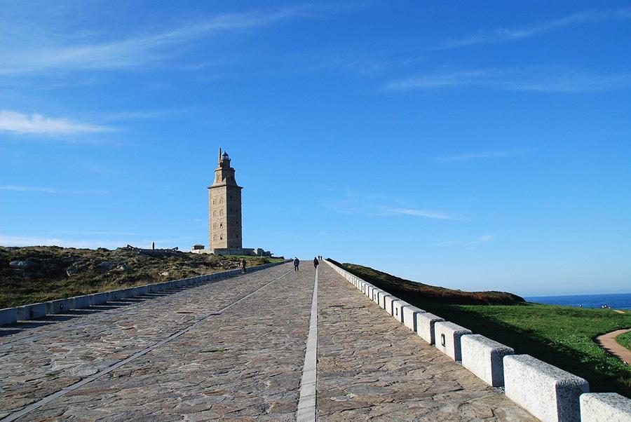 Tour de un día de La Coruña de Santiago de Compostela - Galicia, España del norte