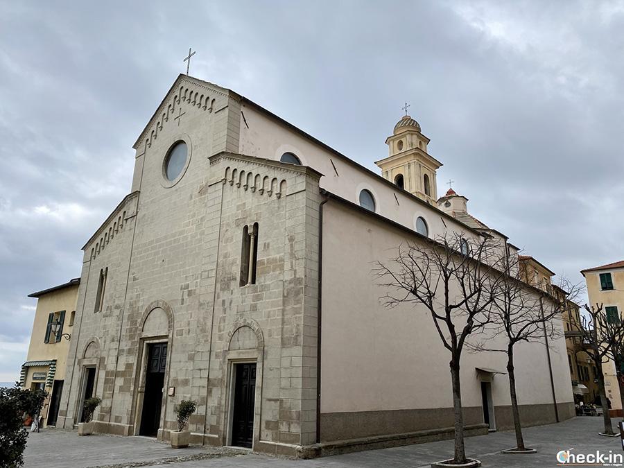 Chiesa di S. Stefano a Santo Stefano al Mare - Riviera ligure di ponente
