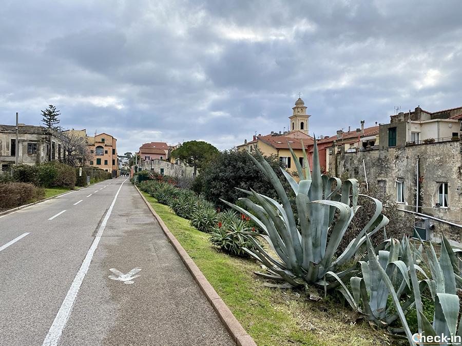 Pista ciclopedonale del Ponente tra Ospedaletti e San Lorenzo al Mare - 24 Km in provincia di Imperia
