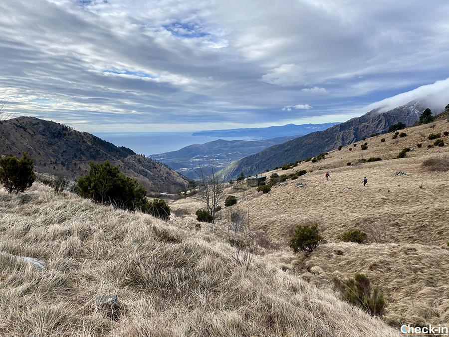 Sentieri del Parco Beigua: Passo della Gava da Arenzano (Liguria di ponente)