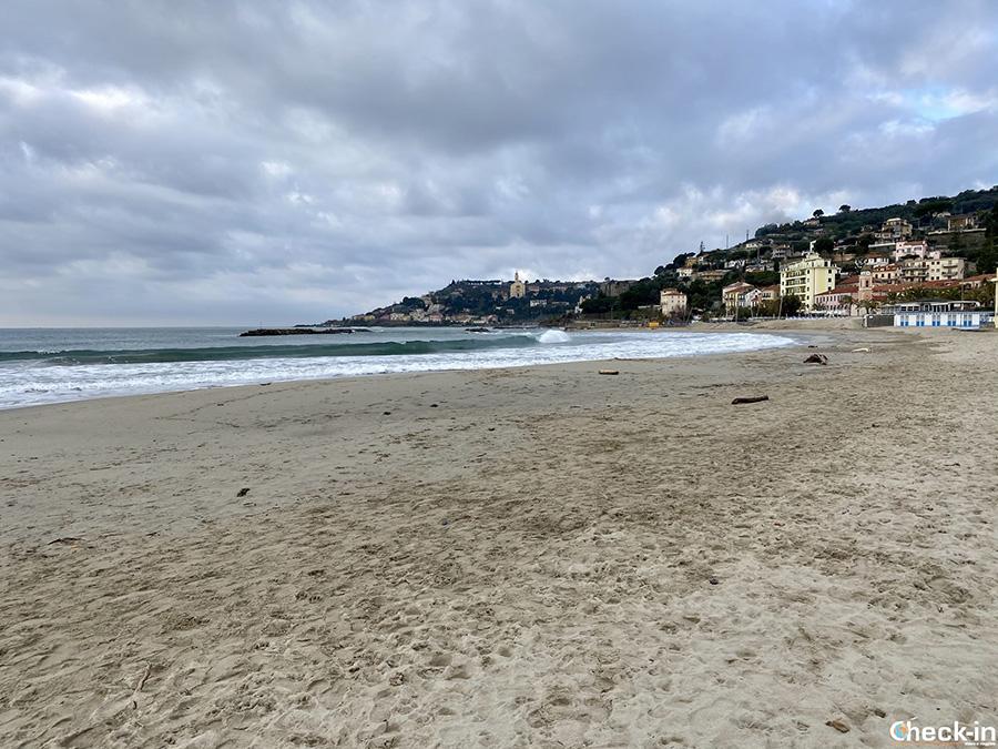 Passeggiata costiera da Arma di Taggia a San Lorenzo al Mare - Liguria di Ponente