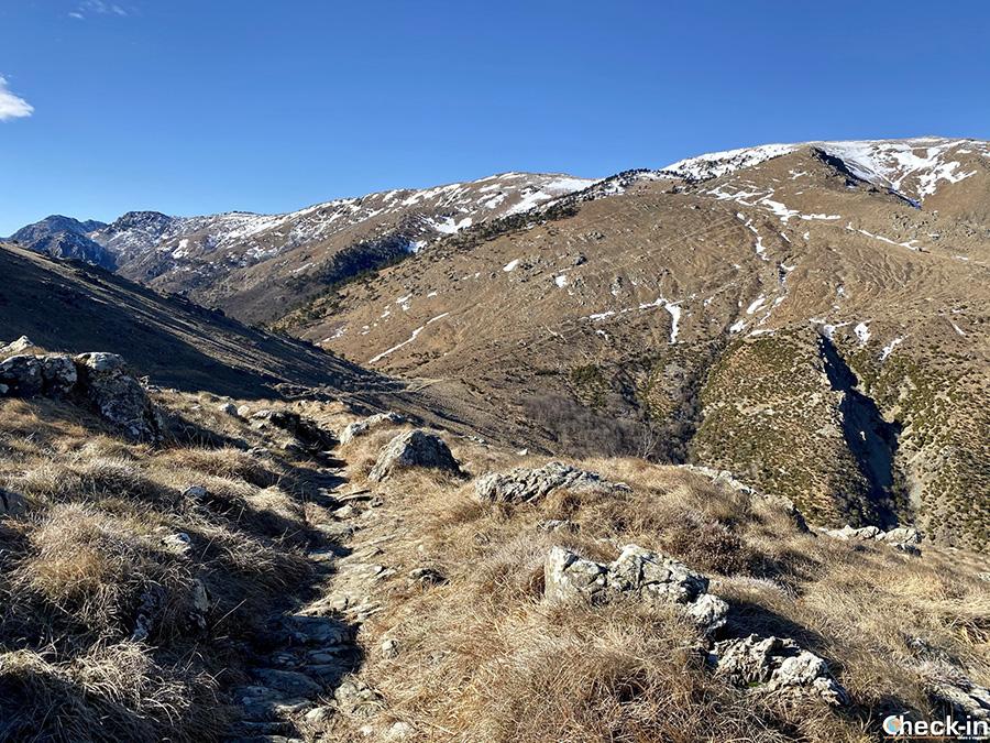 Trekking nella Liguria di ponente: dal Passo Gava al passo Tardìe