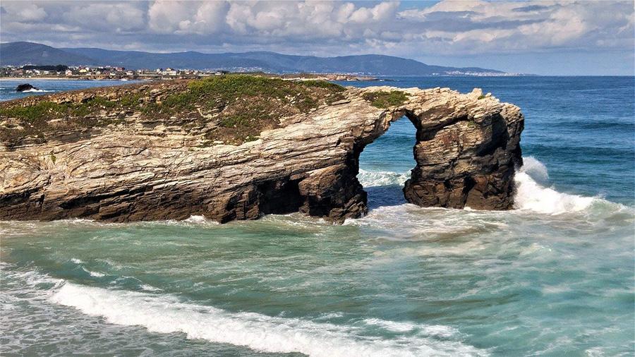 Cómo llegar a la Playa de Las Catedrales de Santiago - Galicia, España del norte