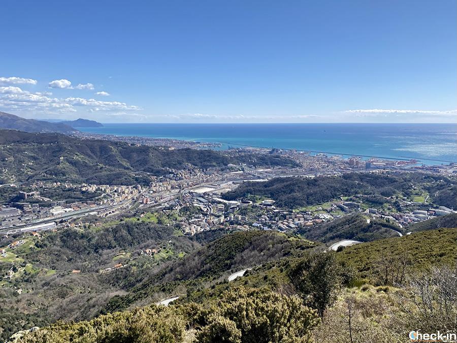 Trekking poco conosciuti a Genova, anello di Cassinelle e Monte Teiolo