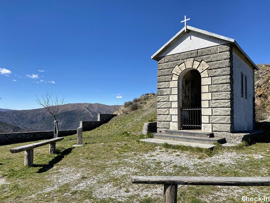 Cappelletta della Madonnina del M.te Teiolo - Sentiero da Genova Borzoli e Cassinelle