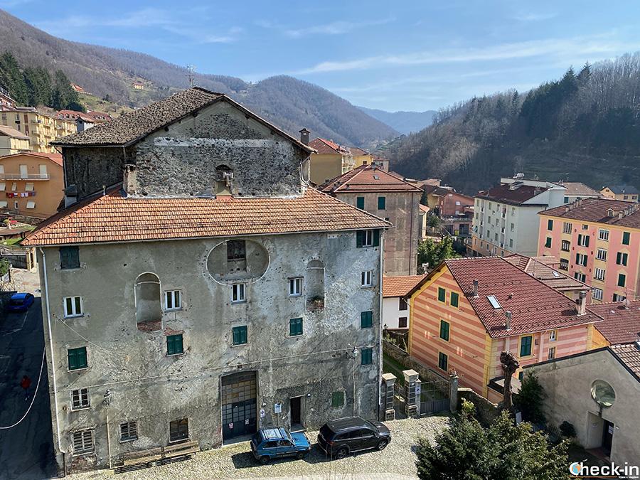 L'ex Chiesa del Convento dei SS Michele e Cristino - Campo Ligure (GE)