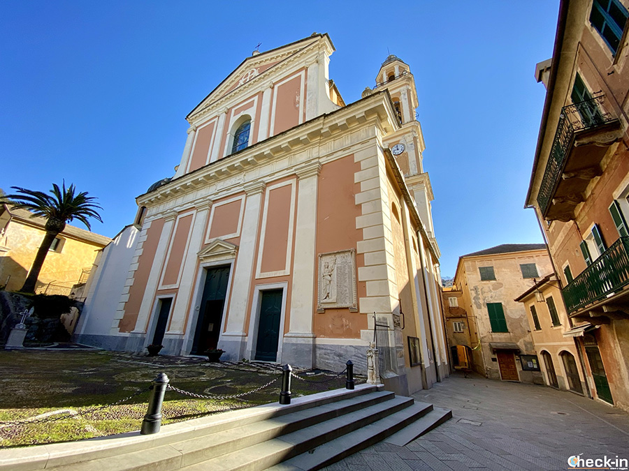 Visita del centro storico di Moneglia: Chiesa di S. Croce e Oratorio dei Disciplinanti