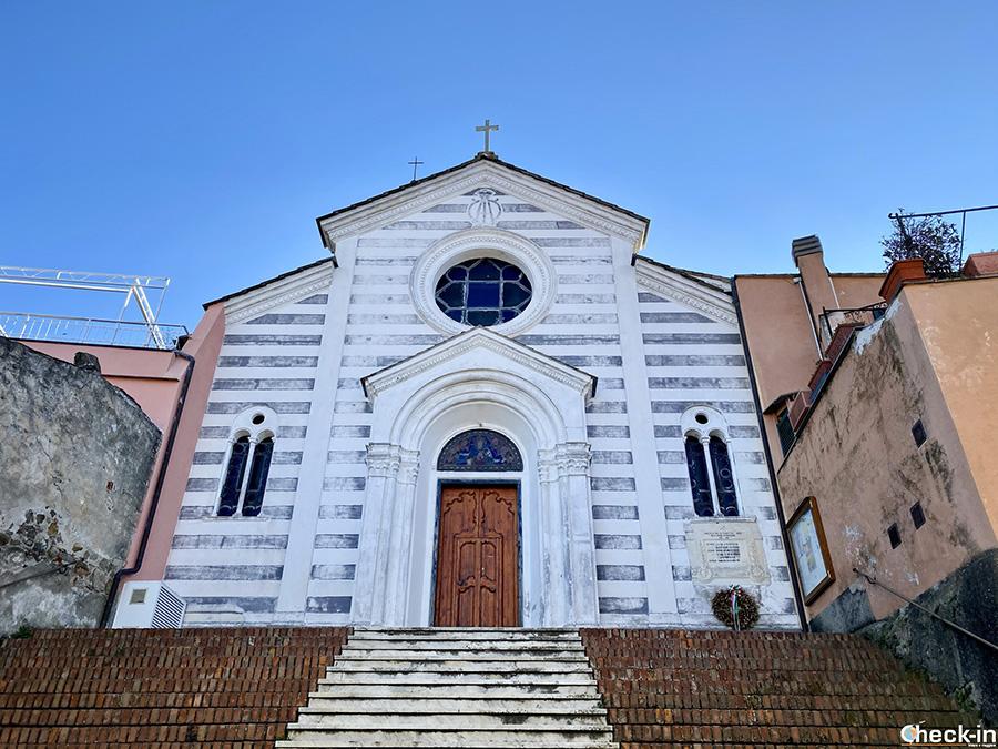 Chiesa di S. Maria Assunta a Lemeglio, frazione di Moneglia (GE) - Liguria di levante