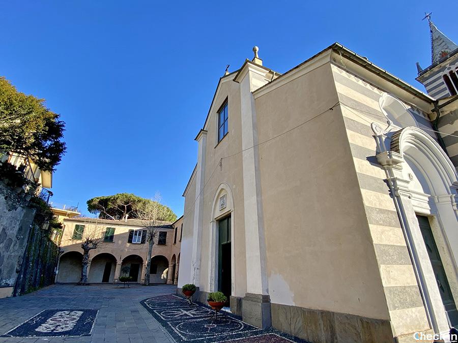 Cosa vedere nel centro storico di Moneglia (GE): Chiostro e Chiesa di S. Giorgio