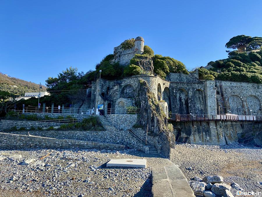 Visita di Moneglia, uno dei borghi più belli d'Italia: Fortezza di Villafranca