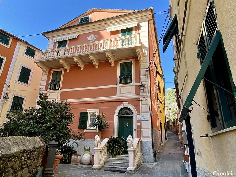 """Zona """"Rovereto"""" nel centro storico di Deiva Marina - Liguria di levante"""