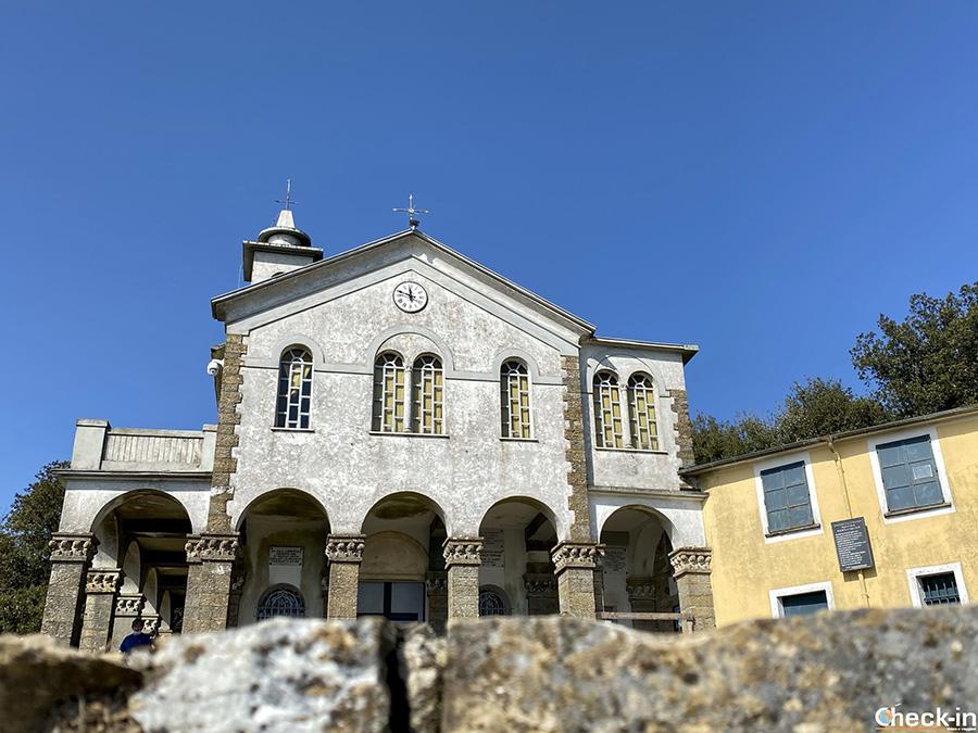Santuario NS di Caravaggio - S. Maria del Campo a Rapallo (Liguria)