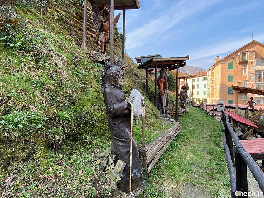 """Luoghi insoliti in Liguria: """"Giardino di Tugnin"""" a Campo Ligure"""