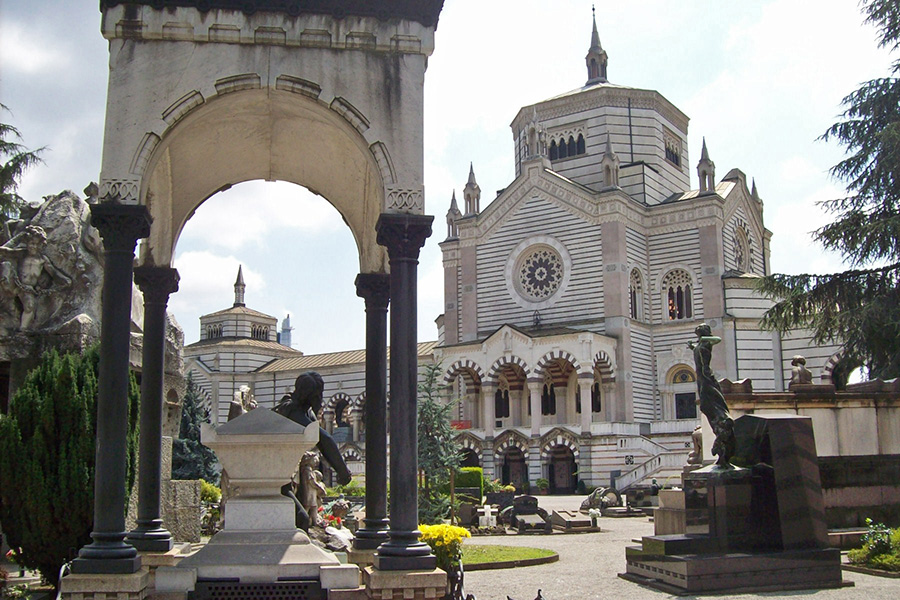 Top activities to do in Milan: Monumental Cemetery guided tour