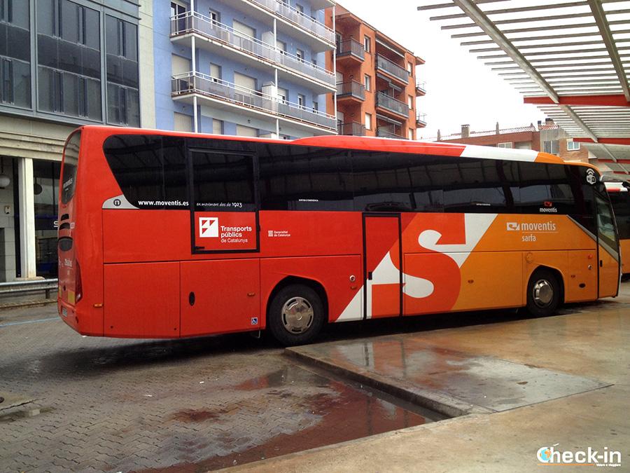 Líneas regulares de autobús para Figueres de Barcelona, Girona y Costa Brava
