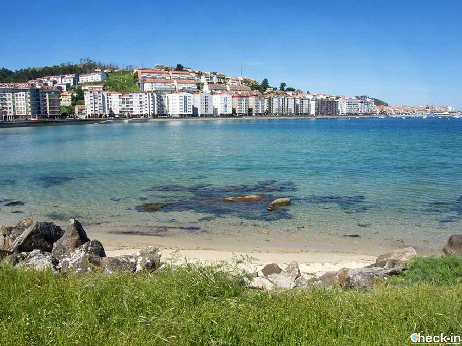 Playa de Santa Marta - Bahía de Baiona, España