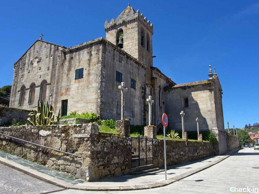 Arte religioso en Baiona: Iglesia de Santa María - Galicia, España del norte
