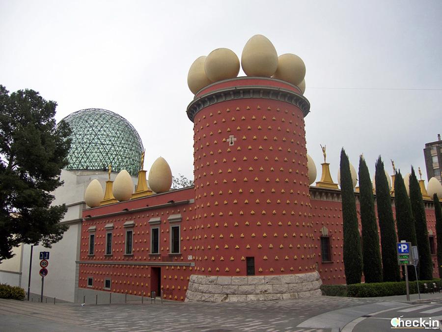 Teatro-Museo en Figueres, segunda etapa del Triángulo Daliniano en Costa Brava