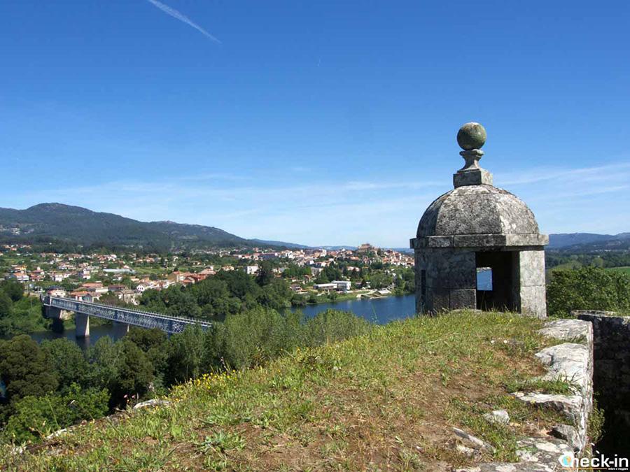 Lugares de interés en Valença do Minho, cerca de la frontera con España