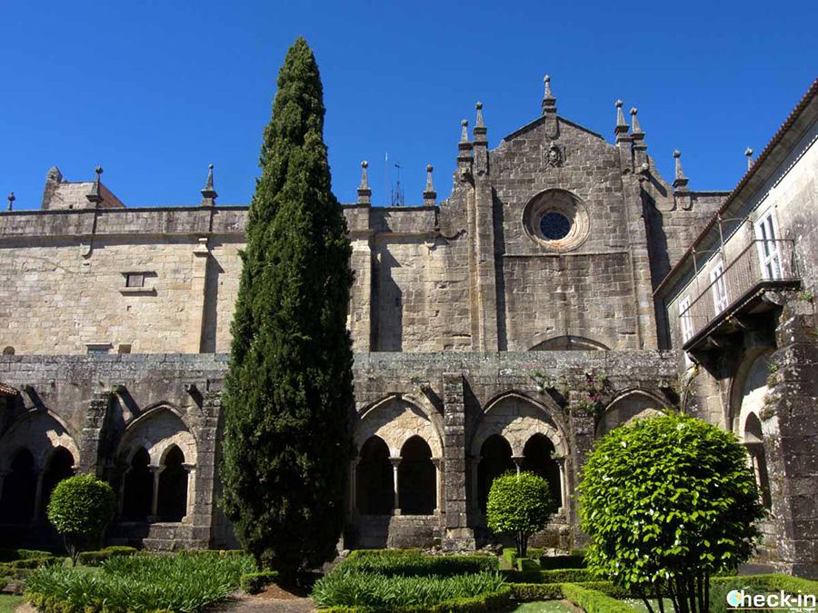 Claustro de la Catedral de Tui - Provincia de Pontevedra, Galicia