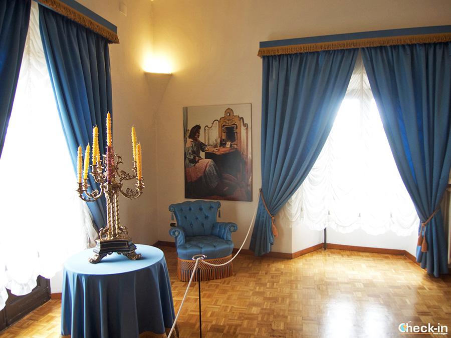 Qué ver en el Castillo de Dalí en Púbol: habitación de Gala