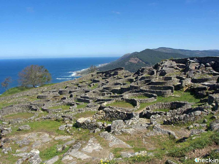 Lugares de interés en Galicia: castro de Santa Tecla, en las alturas de A Guarda