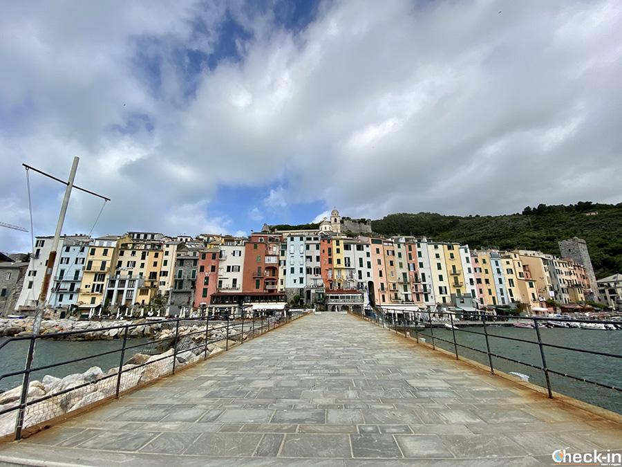 Punti panoramici a Portovenere: molo di Calata Doria