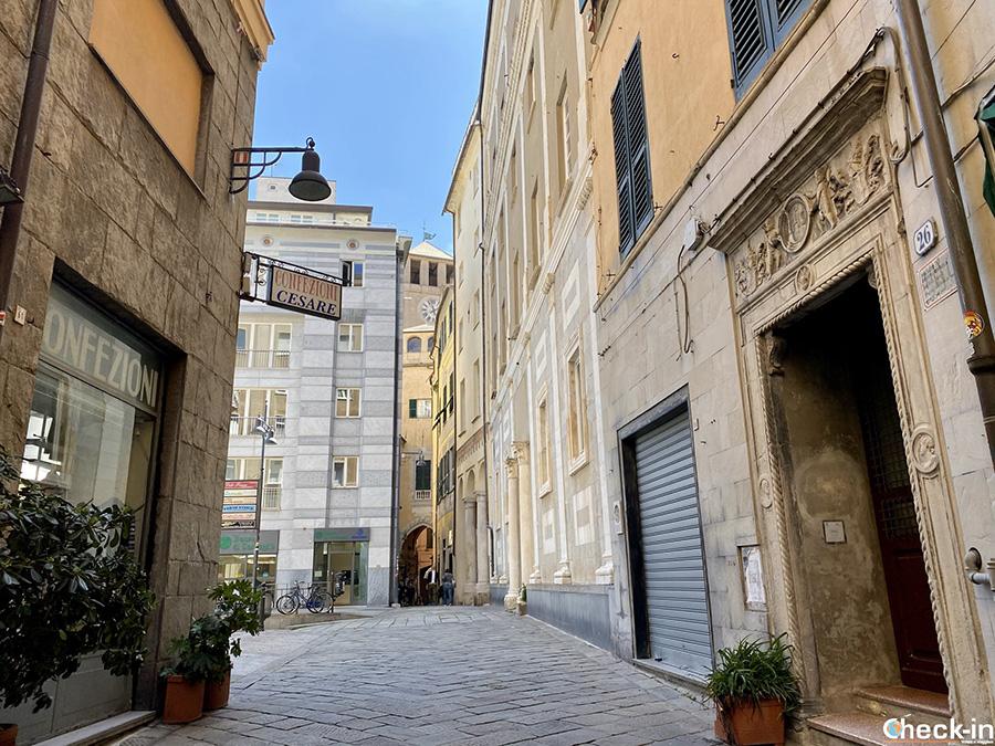 Cosa vedere a Savona in un giorno: Palazzo della Rovere e vie del centro