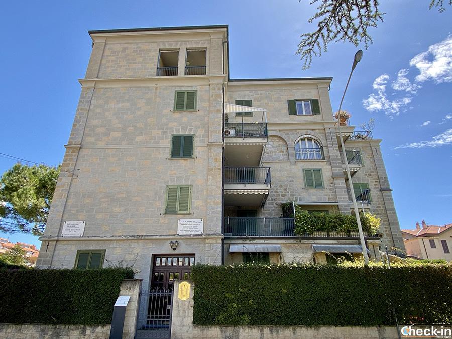 """Edificio """"Casa del Coraggio"""" in Via Vittorio Veneto - Bordighera (IM)"""