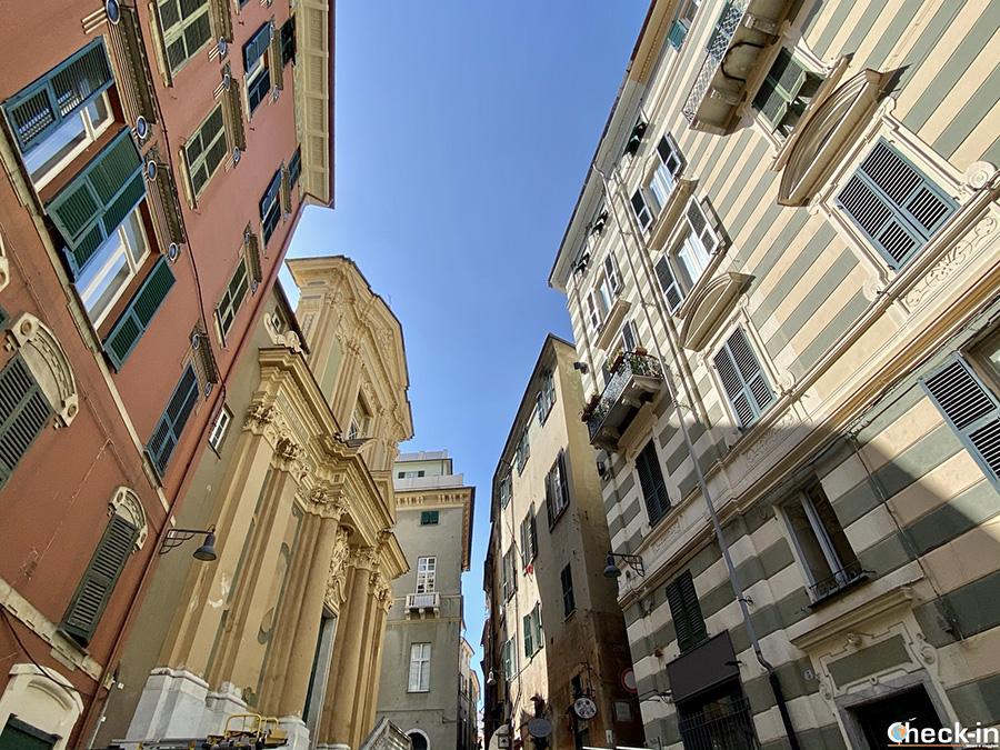 Luoghi di culto a Savona: Chiesa di Sant'Andrea Apostolo, nel centro storico