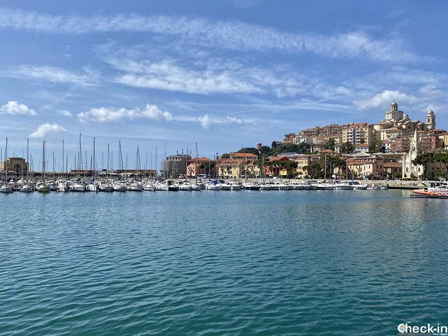 Itinerario per Imperia: porto turistico di Borgo Marina