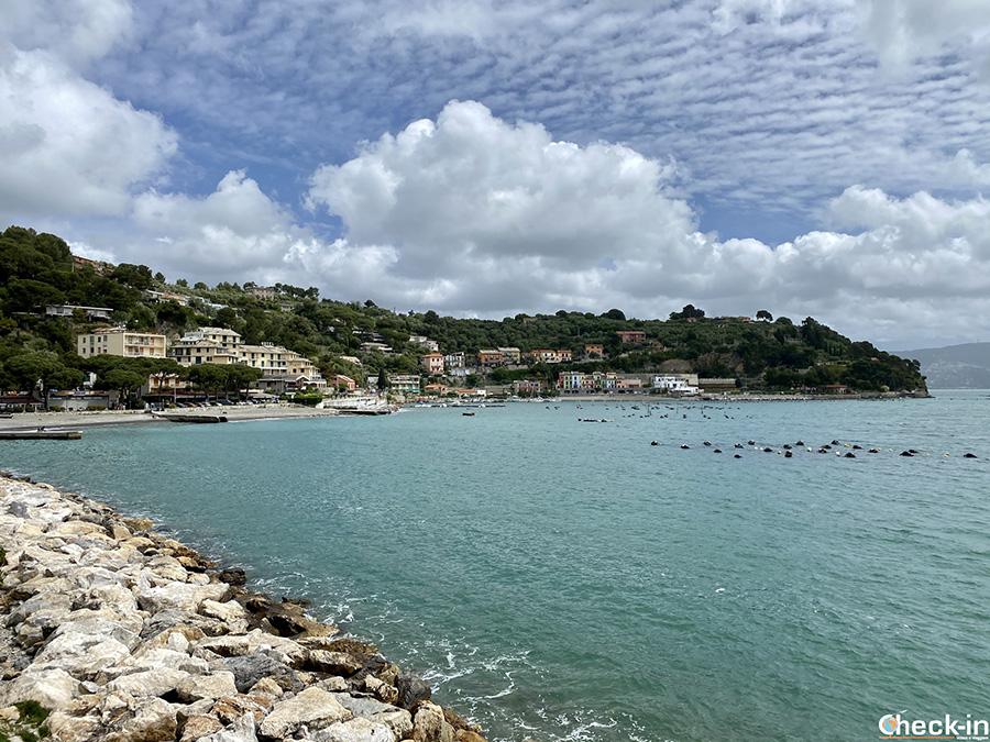 Dove si trovano e come raggiungere le spiagge di Portovenere - Golfo dei Poeti, La Spezia