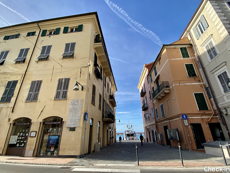 Luoghi simbolo di Oneglia: casa natale di Andrea Doria