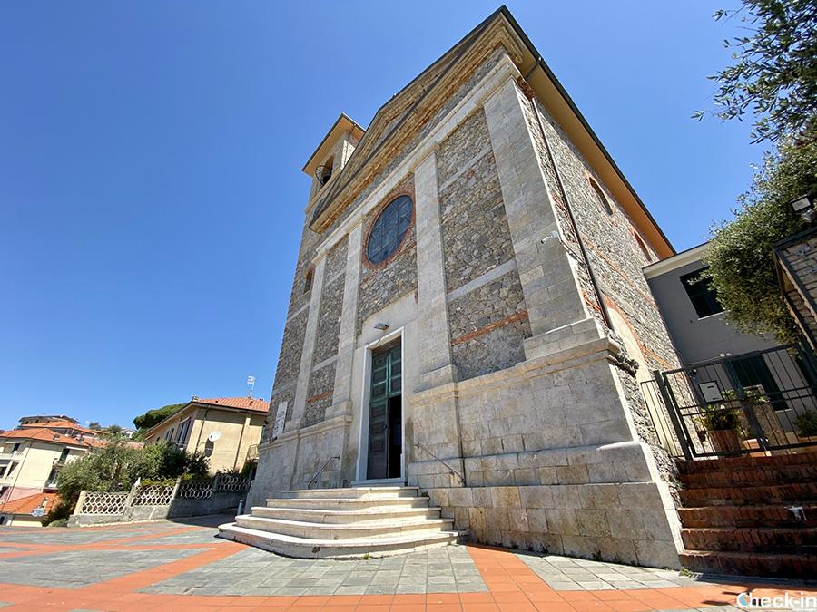 Cosa vedere a Tellaro: Chiesa nuova di Stella Maris