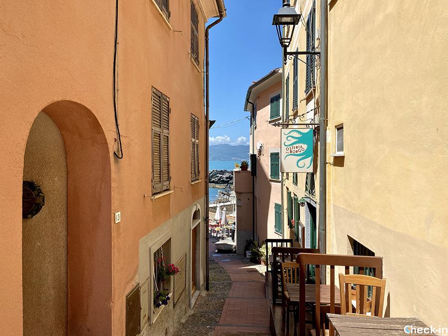 Informazioni per visitare Tellaro in giornata da La Spezia - Riviera ligure di levante