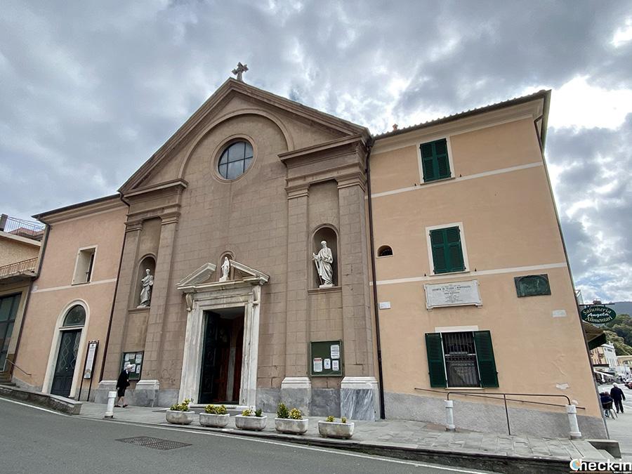 Chiesa parrocchiale di San Terenzo, frazione di Lerici - Riviera ligure di levante