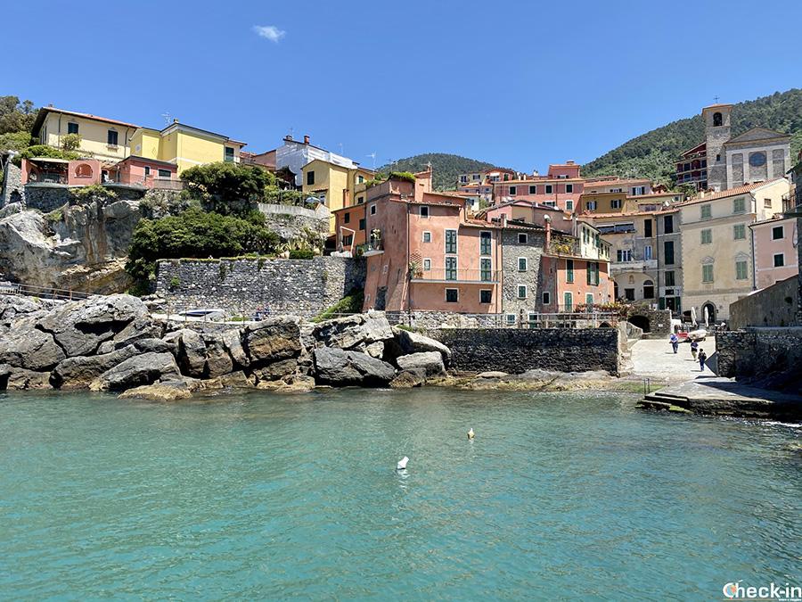 """Luoghi suggestivi di Tellaro (frazione di Lerici): """"La Marina"""""""