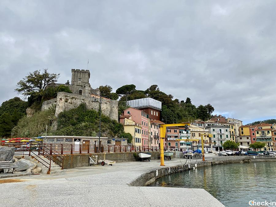 9 cose da vedere vicino a Lerici (Golfo dei Poeti): Castello di San Terenzo e Piazzetta Brusacà