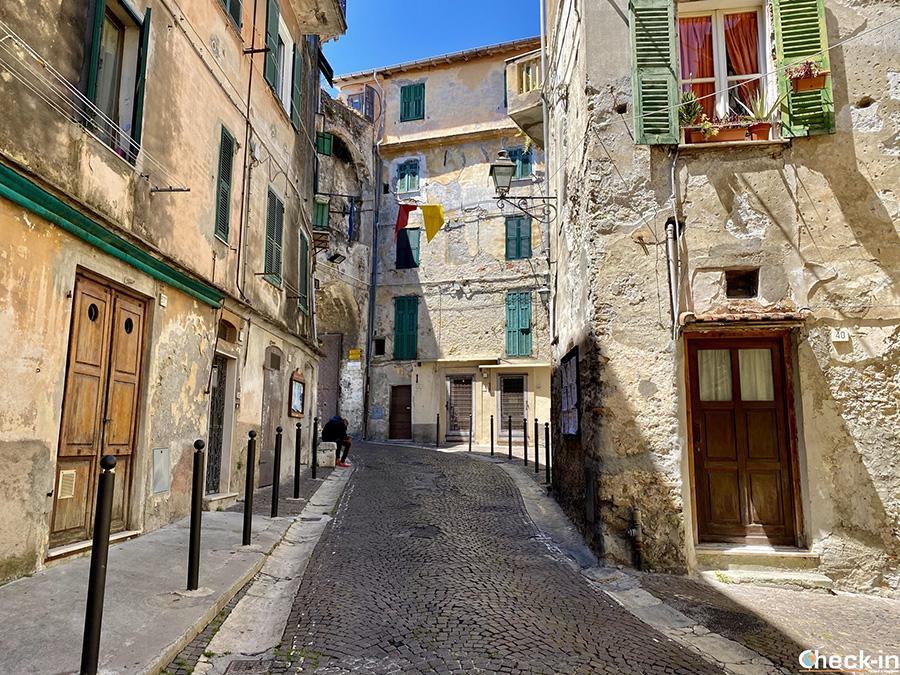 Borghi medievali della Liguria di ponente: Ventimiglia Alta