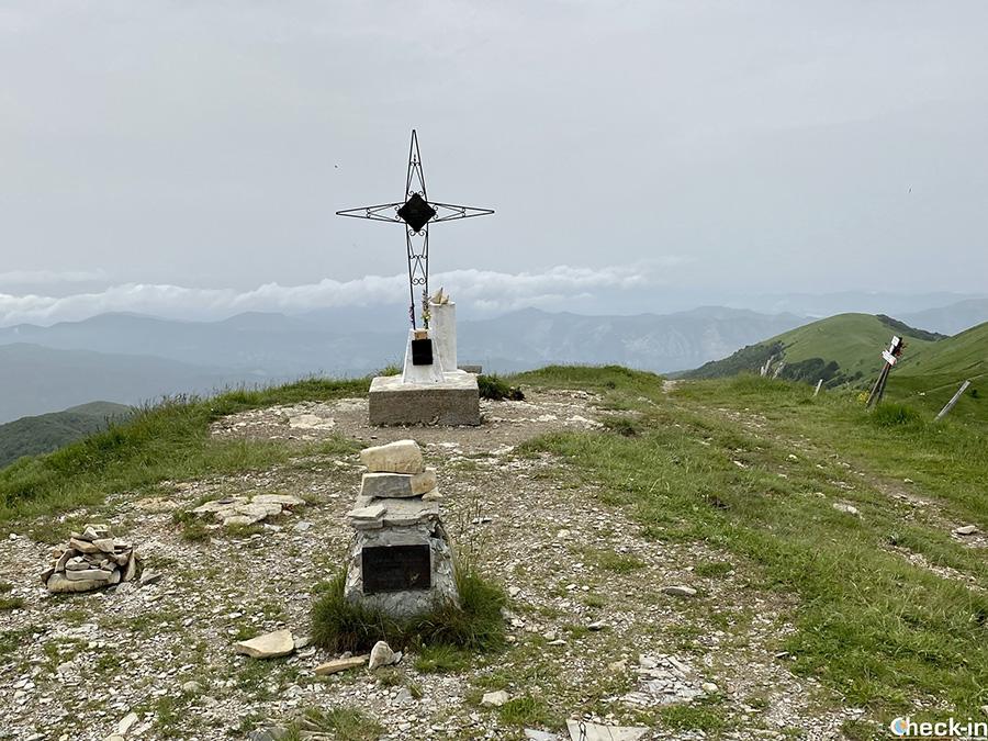 Sulla cima del Monte Ebro, a 1.700 m d'altezza