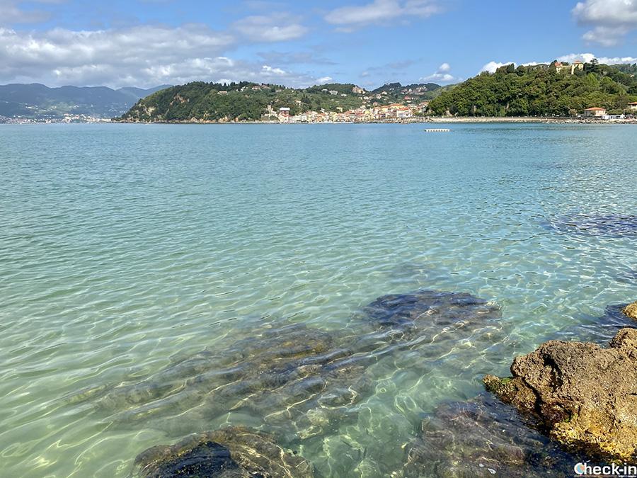 Spiagge più belle di Lerici, nel Golfo dei Poeti (Liguria)