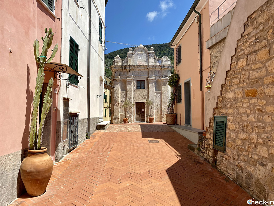 Cosa vedere a Tellaro (Lerici): Oratorio di S. Maria in Sellàa - Golfo dei Poeti, provincia di La Spezia
