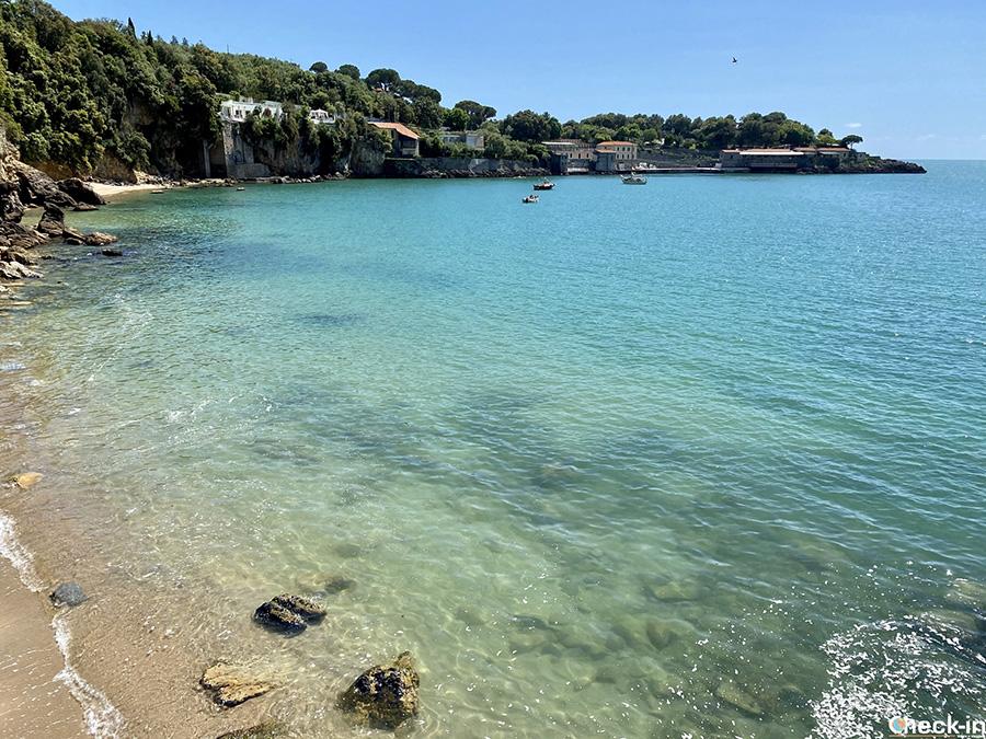 Spiagge più belle e libere nel Golfo dei Poeti: Spiagge di San Giorgio a Lerici