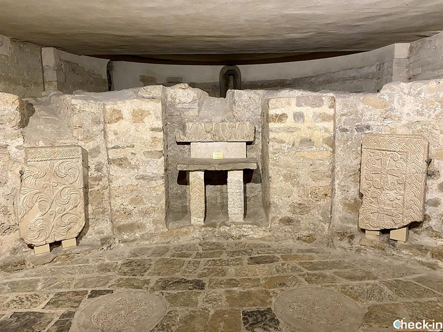 Cosa vedere a Ventimiglia: cripta della Cattedrale di Santa Maria Assunta
