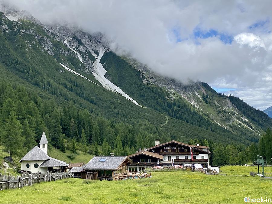 Escursioni nella Valle di Stubai (Tirolo): rifugio Schlickeralm a 1.645 m di quota