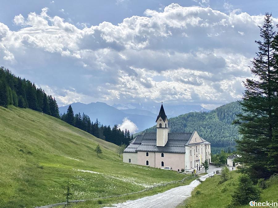 Luoghi di interesse a Mieders (Stubaital): Santuario di Maria Waldrast